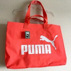 79b25313507 Puma Bags | Red Harajuku Large Sports Tote Bag Handbag | Poshmark